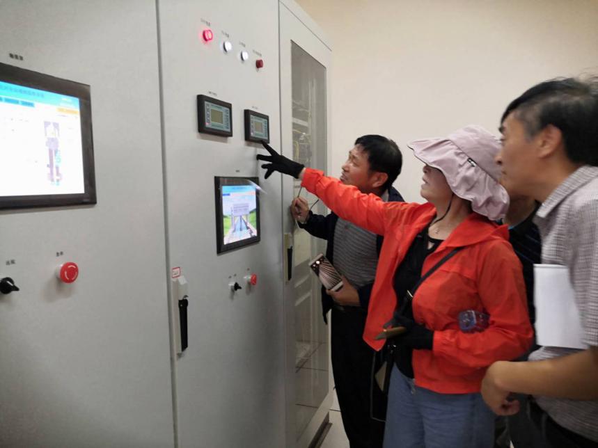 """省水利厅专家组对池州水电申报""""禹王杯""""项目进行现场评审验收(图4)"""