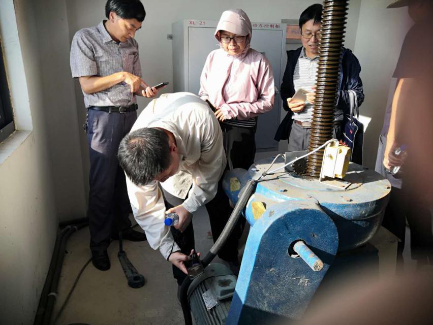 """省水利厅专家组对池州水电申报""""禹王杯""""项目进行现场评审验收(图2)"""