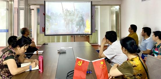 公司召开纪念抗战胜利76周年学习活动(图3)